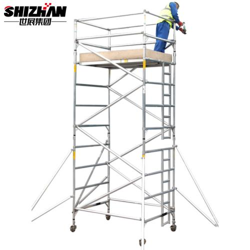 Mobile Aluminum Scaffolding Tower